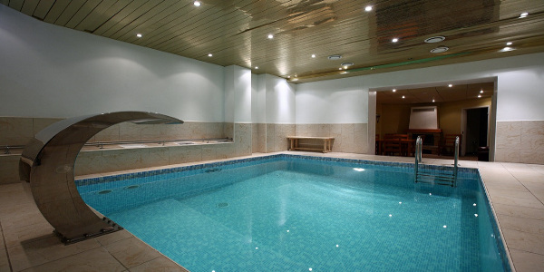 Pool and sauna